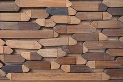 Drewniana blokowa tekstura Zdjęcia Royalty Free