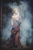 Drewniana boginka obrazy royalty free