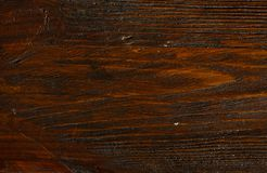 Drewniana brąz adry tekstura, odgórny widok drewniany stołowy drewno ściany tło obrazy stock