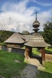 Drewniana brama Zdjęcia Stock