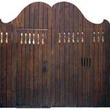 Drewniana brama stara Obrazy Royalty Free