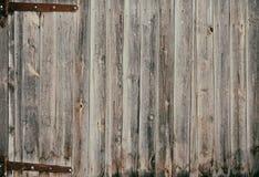 Drewniana brama stara Fotografia Stock