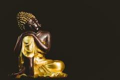 Drewniana Buddha statua Fotografia Royalty Free
