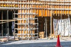 Drewniana budowa domu otoczka Zdjęcie Royalty Free