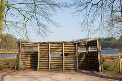 drewniana budy TARGET712_0_ natura Zdjęcie Royalty Free