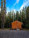 drewniana chata Obrazy Royalty Free