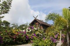 drewniana chata Zdjęcia Stock