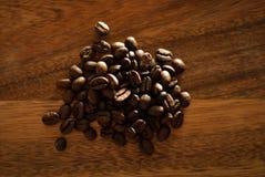drewniana ciapanie blokowa kawa Fotografia Stock