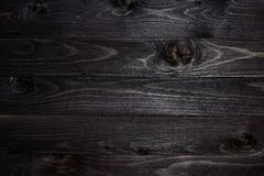 Drewniana Ciemna tło tekstura obraz stock