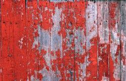 drewniana czerwona tekstura Obrazy Royalty Free