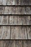 Drewniana dachówkowa tekstura Zdjęcie Royalty Free