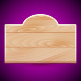Drewniana deska Obrazy Stock