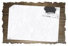 Drewniana deska 005-130422 Zdjęcia Royalty Free