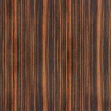 Drewniana deska dla bezszwowego tła - hebanu drewno Zdjęcia Stock