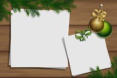 Drewniana deska z fotografią i miejsce dla inskrypci obraz stock