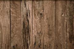 Drewniana deski ściana Fotografia Royalty Free
