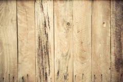 Drewniana deski ściana Obrazy Royalty Free