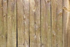 Drewniana deski ściany tekstura Zdjęcia Royalty Free
