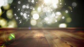 Drewniana deski platforma zbiory wideo