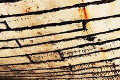 Drewniana Dhow tekstury nauka zdjęcia stock
