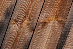 Drewniana Diagonalna tekstura Fotografia Stock