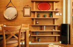 Drewniana domowa dekoracja zdjęcie stock