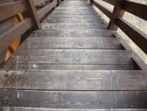 drewniana domowa drabinowa stara wioska Zdjęcie Royalty Free