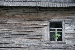 drewniana domowa stara wioska Zdjęcie Royalty Free