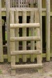 Drewniana drabina Zdjęcia Stock