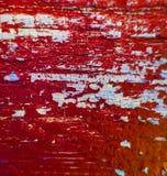 Drewniana farby tła tekstury czerwień Fotografia Royalty Free