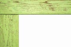 Drewniana fotografii rama, odosobniona Drewniana fotografii rama, odizolowywająca Zdjęcia Stock