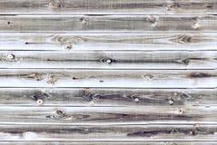 Drewniana futrówek desek ściana jasnobrązowa dębowego drewna tekstura tło starzy panel, Bezszwowy wzór Horyzontalne deski zdjęcie royalty free