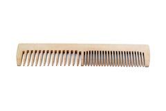 Drewniana grępla odizolowywająca na białym tle Fotografia Stock