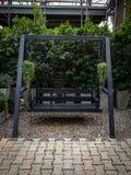 Drewniana huśtawka Zdjęcie Royalty Free