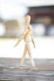 Drewniana istota ludzka zdjęcie royalty free