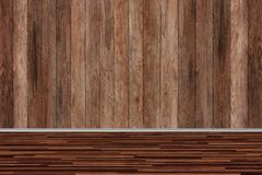 Drewniana izbowa tekstura, rocznik textured fotografia royalty free