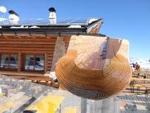 Drewniana kabina Zdjęcie Royalty Free