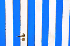 Drewniana kabina przy plażą Zdjęcie Royalty Free