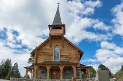 Drewniana kaplica Obrazy Royalty Free