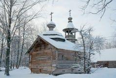 Drewniana kaplica (xviii wiek) Zdjęcia Stock