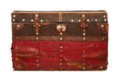 Drewniana klatka piersiowa Zdjęcia Stock