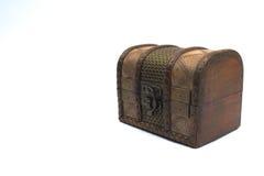 Drewniana klatka piersiowa Zdjęcie Stock