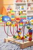Drewniana kolor zabawka Fotografia Stock