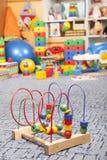 Drewniana kolor zabawka Zdjęcie Royalty Free