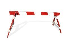 drewniana konstrukcja bariery Zdjęcia Stock