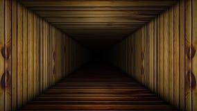 Drewniana korytarz pętla