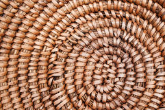 drewniana koszykowa tekstura Zdjęcie Stock