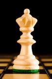 Drewniana królowa Zdjęcia Royalty Free