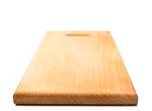 Drewniana kuchni deska odizolowywająca Zdjęcia Stock