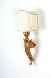 drewniana lampy dekoracyjna ściana Obraz Royalty Free